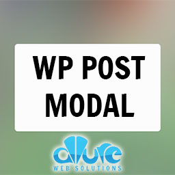 WP Post Modal Plugin