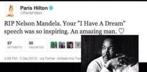 Paris Hilton Dumb Tweets
