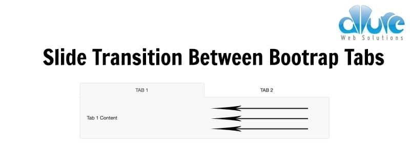 Slide Transitions Between Bootstrap Tabs Using CSS3 & jQuery