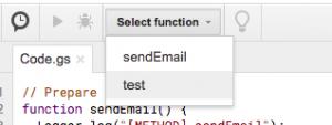Test Google Script