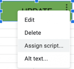 Google Sheets - Assign Script